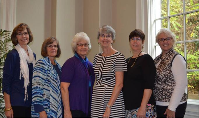 MWV Retreat Planning Committee (L-R):  Janine Kanagy, Jean Oswald, Lois Maust,  Gloria Lehman, Tammy Driver, Deb Pardini.