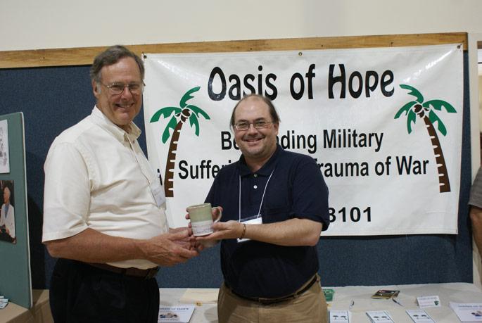 Oasis of Hope awarded Peace Mug