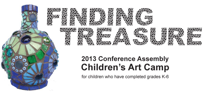 Finding Treasure Art Camp