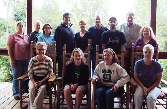 Grace Mennonite Fellowship members who traveled to Jonesville, Va. Photo courtesy of Karin King