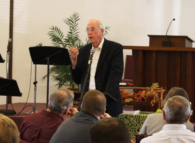 George Brunk III presented on  the ways the Confession was  historically used to build unity among different groups.