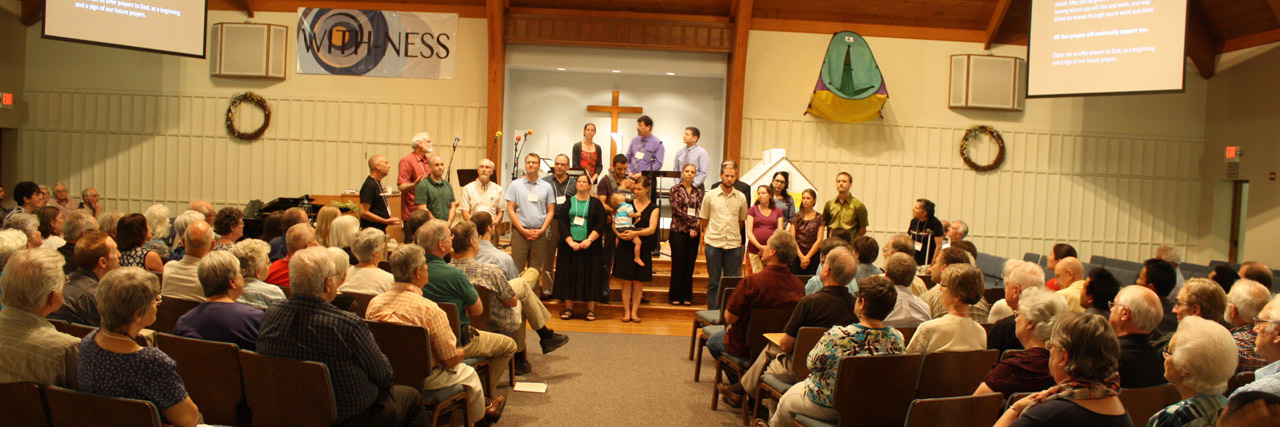 Pastors and credentialed persons in various ministries were commissioned Friday evening.