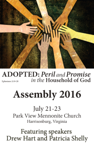 Conference Assembly 2016 will feature speakers Drew Hart and Patricia Shelly