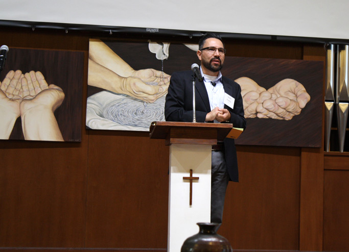 Saulo Padilla brought the message on Thursday evening.