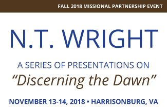 "N.T. WRIGHT, A series of presentations on ""Discerning the Dawn"""