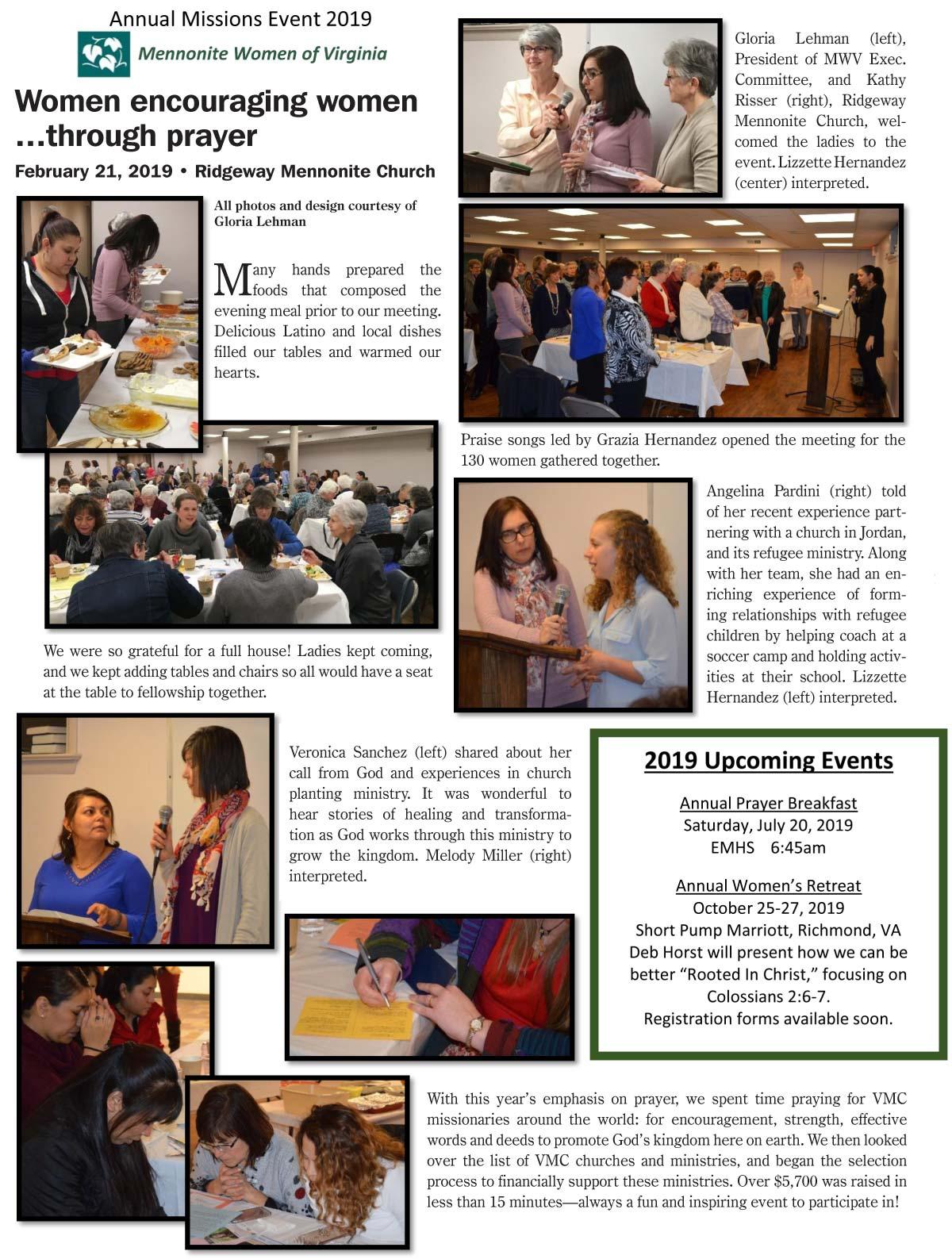Mennonite Women of Virginia | Virginia Mennonite Conference