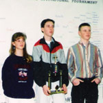 The 1994 tournament-winning team with Matt Trost, center. Courtesy photo