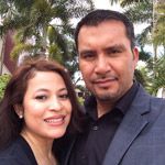 Juan Carlos and Wendy Malvaez
